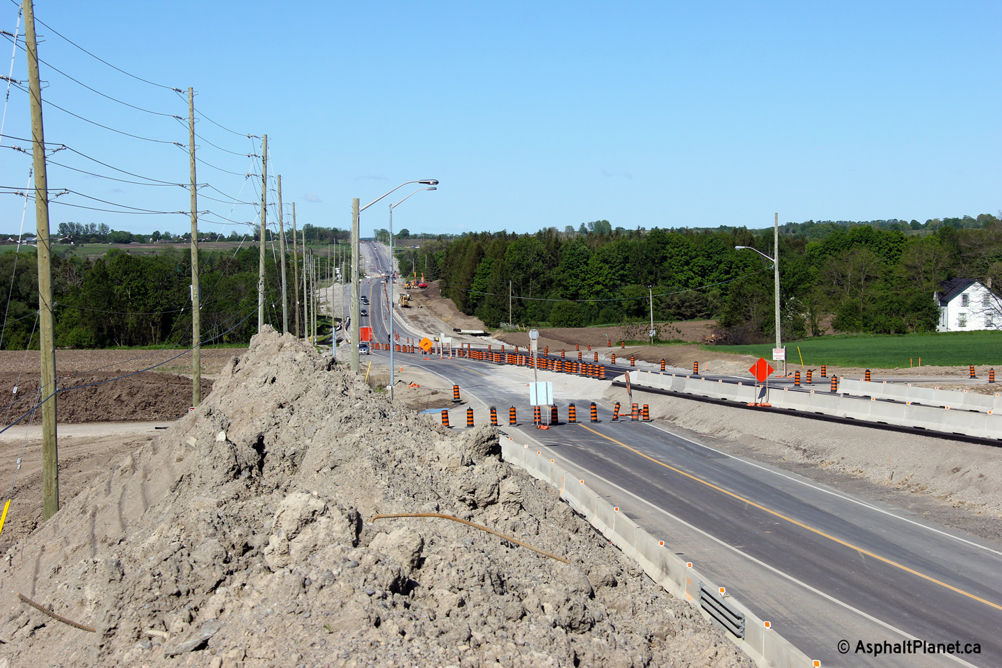 King 39 s highway 7 pickering to whitby expansion for Mobilia highway 7